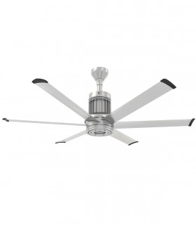 Quạt trần đèn pha lê HGP-9021, cánh cụp xòe