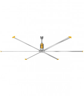 Quạt trần đèn cao cấp Wegarce HGP-9018, đèn pha lê vàng