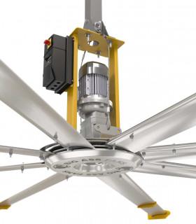HGP-2602 quạt trần Mounatain Air không đèn, 5 cánh, màu đồng sáng