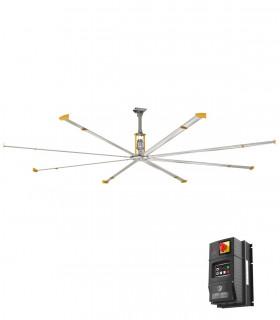 HGP-008B quạt trần đèn cánh thép Mountain Air