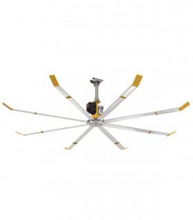HGP-2612 quạt trần đèn cánh gỗ, màu cánh gián