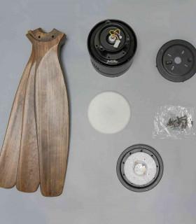 Quạt trần cao cấp Haiku, 3 cánh, thân quạt bằng nhựa Compsite